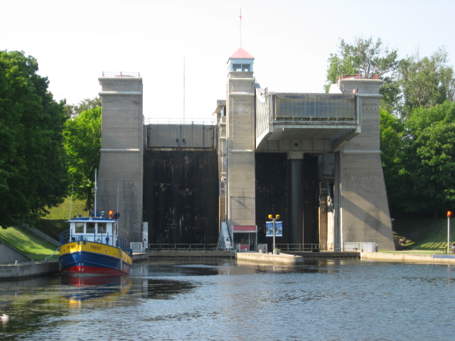 Yacht Delivery Captain at Peterborough Lift Lock - Trent Canal System